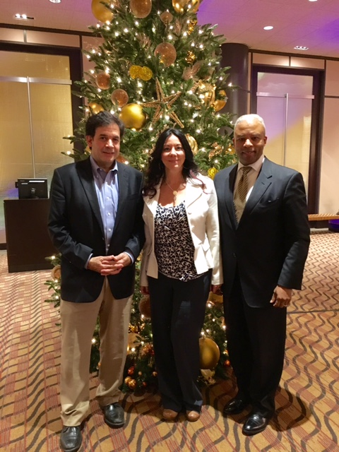Co creating with Deepak, Rudy Tanzi and Secretary of Labor and Workforce Development Ron Walker G3 Leadership and Wellbeing Training