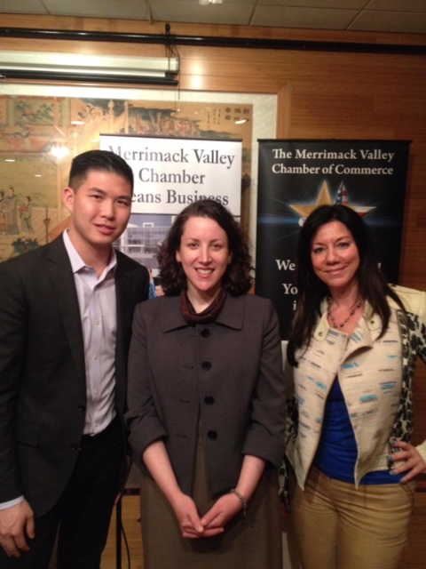 Susan with Kathleen and CEO David Yee at a Next Generation Business Leaders event.