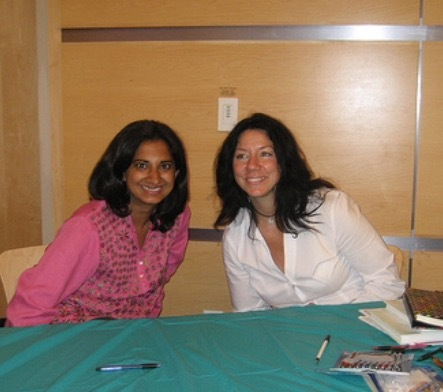Susan joins Mallika Chopra at a book signing.