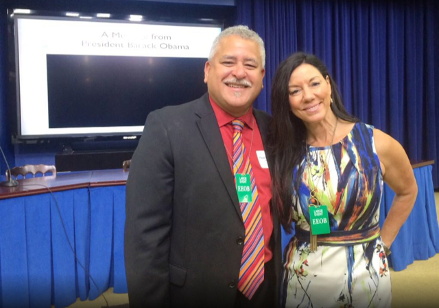 Susan at the first White House Conference on Bridging the Word Gap.