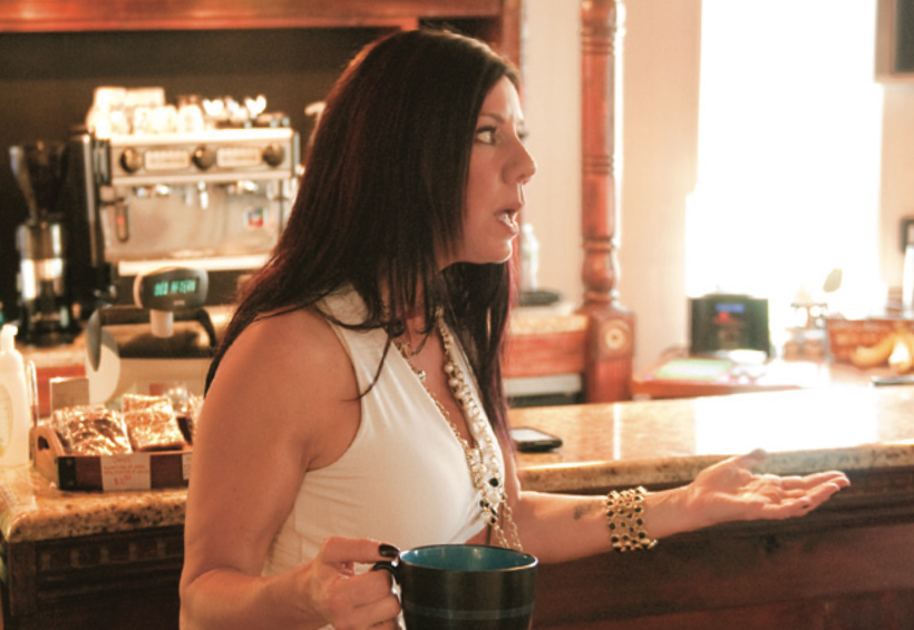 "Susan is featured in Merrimack Valley Magazine's ""Coffee Talk."""