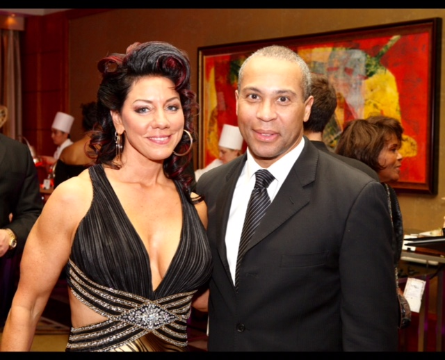 Susan Leger Ferraro and Governor  Deval Patrick